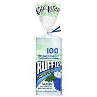 Ruffies Color Scents Small Trash Bags 4 Gallon Size 105CT