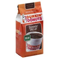 Dunkin Donuts Coffee Ground Decaf  12oz Bag