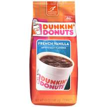 Dunkin Donuts Coffee Ground French Vanilla 12oz Bag