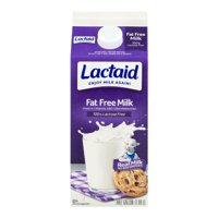 Lactaid 100% Lactose Free Milk Fat Free 64oz CTN