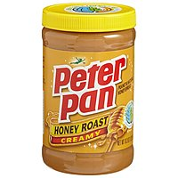 Peter Pan Peanut Butter Creamy Honey Roast 16.3oz Jar product image