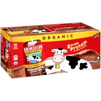 Horizon Organic Chocolate Milk Lowfat 18CT of 8oz Boxes