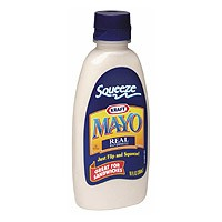 Kraft Real Mayonnaise Squeeze 12oz BTL