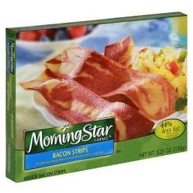 Morningstar Farms Breakfast Bacon Strips 5.25oz PKG product image