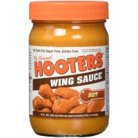 Hooters Wing Sauce Hot 12oz Jar product image