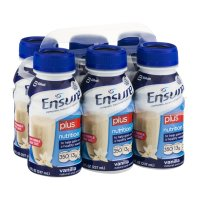 Ensure Plus Nutrition Shake Vanilla  8oz EA 6PK