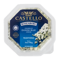 Castello Rosenborg Crumbled Blue Cheese 5oz Cup product image