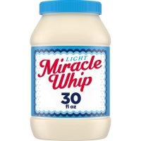 Kraft Miracle Whip Light Dressing 30oz Jar product image