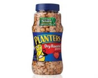 Planters Peanuts Dry Roasted 16oz Jar