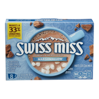 Swiss Miss Hot Cocoa Mix Milk Chocolate with Marshmallows .73oz EA 10CT 7.3oz Box