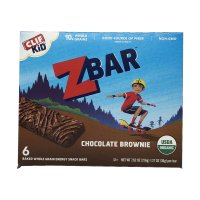 Clif Kid Organic Z Bar Chocolate Brownie 6CT 7.62oz PKG