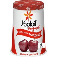 Yoplait Original Yogurt Lowfat Cherry Orchard 6oz. Cup