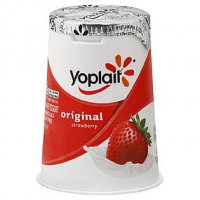 Yoplait Original Yogurt Lowfat Strawberry 6oz Cup