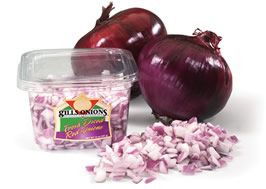 Diced Red Onions 8oz PKg
