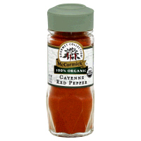 Mccormick Gourmet Collection Organic Cayenne Red Pepper 1.5oz BTL product image