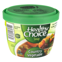 Healthy Choice Country Vegetable Microwavable Soup 14oz Cup