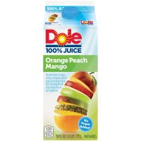 Dole 100% Orange Peach Mango Juice 59oz BTL