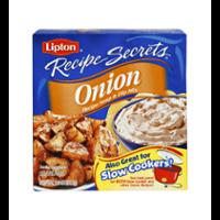 Lipton Recipe Secrets Onion Soup Mix 2CT 2oz Box