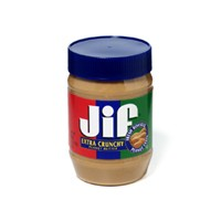 Jif Extra Crunchy Peanut Butter 16oz Jar product image