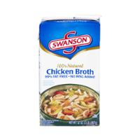 Swanson 100% Natural Chicken Broth 32oz CTN