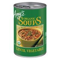Amy's Organic Lentil Vegetable Soup 14.5oz Can product image