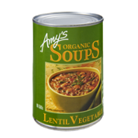 Amy's Organic Lentil Vegetable Soup 14.5oz Can