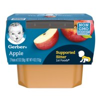 Gerber 1st Foods Apples All Natural 2.5oz 2PK