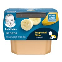 Gerber 1st Foods Bananas All Natural 2.5oz  2PK