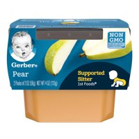 Gerber 1st Foods Pears All Natural 2.5oz 2PK