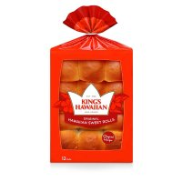 King's Hawaiian Original Hawaiian Sweet Bread Rolls 12CT