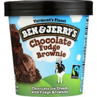 Ben & Jerry's Ice Cream Chocolate Fudge Brownie 1 Pint