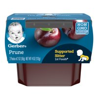 Gerber 1st Foods Prunes All Natural 2.5oz 2PK