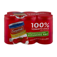 Campbell's Tomato Juice From Concentrate 5.5oz EA 6PK