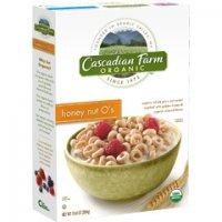 Cascadian Farm Cereal Honey Nut O's 9.5oz Box