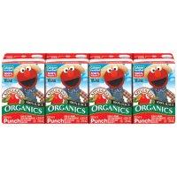 Apple & Eve Organic Elmo's Punch 100% Juice 4CT of 4.23oz Boxes product image