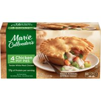 Marie Callender's Chicken Pot Pie 4CT 10oz EA 40oz PKG