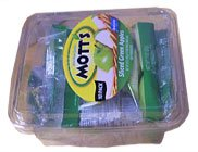 Mott's Sliced Green Apples 10 Bags 2oz Each product image
