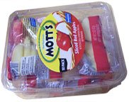 Mott's Sliced Red Apples 10 Bags 2oz Each