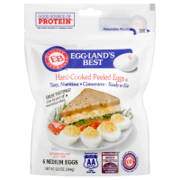 Eggland's Best Eggs Hard Cooked Medium 6CT PKG product image