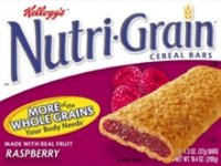 Kellogg's Nutri-Grain Cereal Bars Raspberry 8CT 10.4oz Box