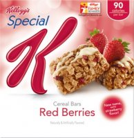Kellogg's Special K Cereal Bars Red Berries 6CT 5.64oz Box