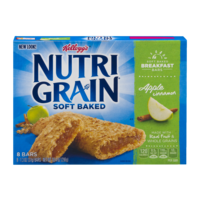 Kellogg's Nutri-Grain Cereal Bars Apple Cinnamon 8CT 10.4oz Box product image