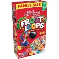 Kellogg's Froot Loops Cereal 21.7oz Box product image