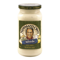 Newman's Own Alfredo Sauce 15oz Jar product image
