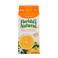 Florida's Natural Orange Juice Some Pulp 59oz. CTN