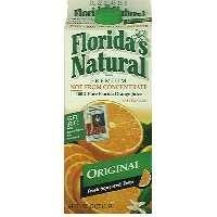 Florida's Natural Premium Orange Juice Original No Pulp 59oz. CTN