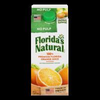 Florida's Natural Premium Orange Juice Original No Pulp 59oz. CTN product image