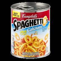Campbell's SpaghettiOs Plus Calcium 14.2oz Can