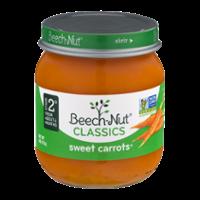 Beech-Nut Stage 2 Sweet Carrots 4oz Jar