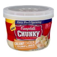 Campbell's Chunky Soup Bowl Chicken & Dumplings 15.2oz BWL